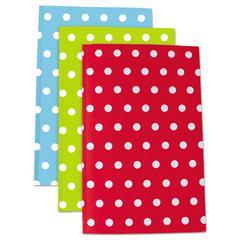 Modern Jen Journals, 8 1/2 x 5 1/2, Narrow Rule, Assorted, 50 Sheets, 3/Pack