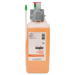 GOJO Luxury Foam Antibacterial Handwash, 1500mL Refill, Fresh Fruit, 2/Carton