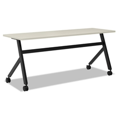 Multipurpose Table Fixed Base Table, 72w x 24d x 29 3/8h, Light Gray