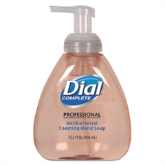 Dial Professional Antibacterial Foaming Hand Wash, Original Scent, 15.2oz, 4/Carton