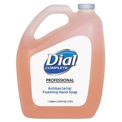 Dial Professional Antibacterial Foaming Hand Wash, Original Scent, 1gal., 4/Carton