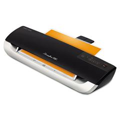 Swingline GBC Fusion 3000XL Laminator Plus Pack with Ext Warranty and Pouches, Black/Silver