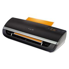 Swingline GBC Fusion 5000XL Laminator Plus Pack with Ext Warranty and Pouches, Black/Silver