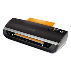 Swingline GBC Fusion 5100XL Laminator Plus Pack with Ext Warranty and Pouches, Black/Silver