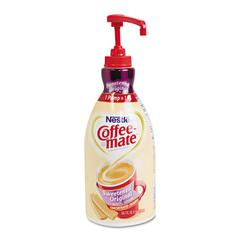 Liquid Coffee Creamer, Sweetened Original, 1.5 Liter Pump Bottle, 2/Carton