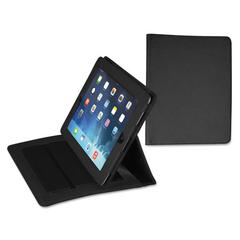Fashion iPad Case for iPad Air, Debossed Pattern, Black