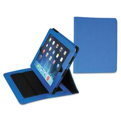 Samsill Fashion iPad Case for iPad Air, Debossed Pattern, Blue