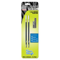 EQ Refill for Z-Mulsion EX Ballpoint Pen, Medium, Black