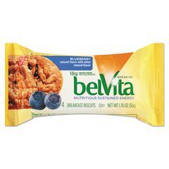 belVita Breakfast Biscuits, Blueberry, 1.76 oz Pack