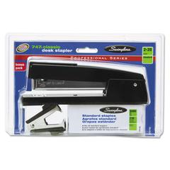 Swingline 747 Classic Stapler Plus Pack, Full Strip, 20-Sheet Capacity, Black