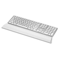 Fellowes I-Spire Keyboard Wrist Rocker Wrist Rest, 17 7/8 x 2 1/2 x 7/8, White