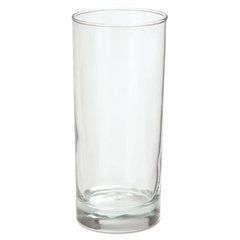 Office Settings Riviera Beverage Glasses, 16oz, Clear, 6/Box