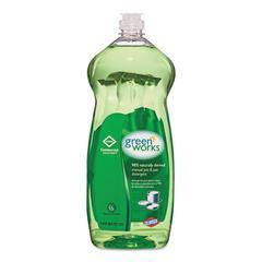 Green Works Manual Pot & Pan Dish Liquid, Original, 38oz Squeeze Bottle