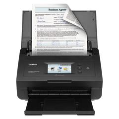 Brother ImageCenter ADS-2500WE Scanner, 600 x 600 dpi, 50 Sheet Feeder