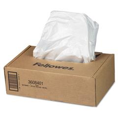 Fellowes AutoMax Shredder Waste Bags, 16-20 gal, 50/CT