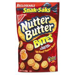 Nutter Butter Cookies, 8 oz Snak Pak