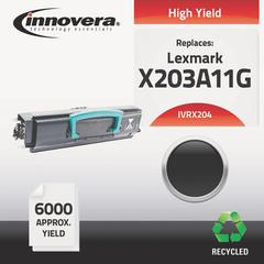 Remanufactured X203A11G (X204) High-Yield Toner, Black