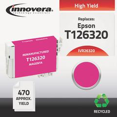 Innovera Remanufactured T126320 (126) Ink, Magenta