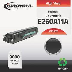 Innovera Remanufactured E260A11A (E260) High-Yield Toner, Black