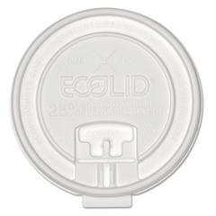 25% Recy Content Dual-Temp Lock Tab Lid w/Straw Slot, 10-20oz , 50/PK, 12 PK/CT