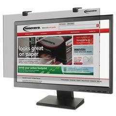 "Protective Antiglare LCD Monitor Filter, Fits 24"" Widescreen LCD, 16:9/16:10"