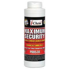 Maximum Security Sorbent, Granular, White, 32 Ounces, Canister, 12/Carton