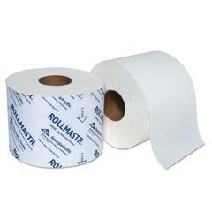 RollMastr High-Capacity Bath Tissue, Standard, 1-Ply, White, 1540/Roll, 48/CT