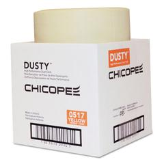 DUSTY Disposable Dust Cloths, 7 7/8 x 11, Yellow, Rayon/Poly, 350 per Roll, 1 Roll/CT