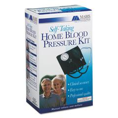 "HealthSmart Self-Taking Home Blood Pressure Kit, 22"" Stethoscope, Adult"