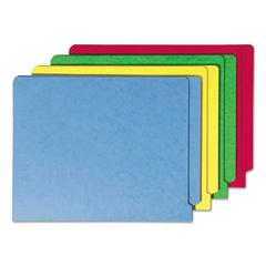 Colored File Folders, Straight Cut Reinforced End Tab, Letter, Assorted, 100/Box