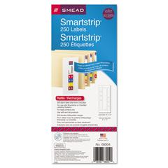 SmartStrip Refill Label Kit, 250 Label Forms/Pack, Laser, 250/Pack