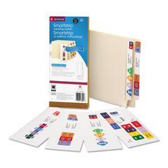 Smead Smartstrip Labeling System Starter Kit w/CD Software & 50 Label Forms, Inkjet