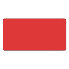Smead CC Color-Coded Labels, Self-Adhesive, 1w x 2h, Red, 250 Labels/Roll