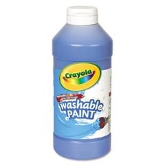 Crayola Washable Paint, Blue, 16 oz
