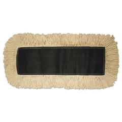 Boardwalk Disposable Dust Mop Head, Cotton, 18w x 5d