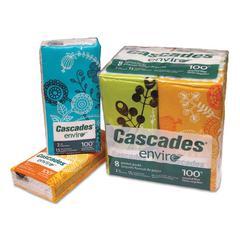 Facial Tissue Pocket Packs, 2-Ply, 8.268 x 8.583, 15/Pack, 8/Bundle