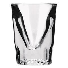 Whiskey Shot Glass, 1 1/2 oz, Clear, 48/Carton