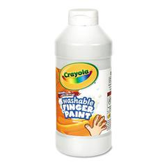 Washable Fingerpaint, White, 16 oz