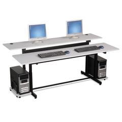 BALT Split-Level Computer Training Table Top, 72 x 36, (Box One)