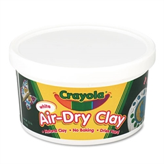 Crayola Air-Dry Clay, White, 2 1/2 lbs