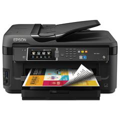 Epson WorkForce 7610 Wireless All-in-One Inkjet Printer, Copy/Fax/Print/Scan