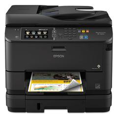 Epson WorkForce 4640 Wireless All-in-One Inkjet Printer, Copy/Fax/Print/Scan