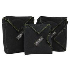 Wrap, 1 Small, 2 Medium, Black