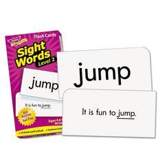 Skill Drill Flash Cards, 3 x 6, Sight Words Set 2