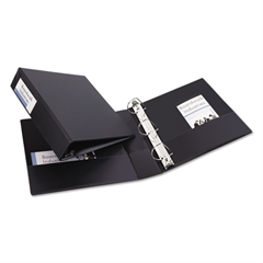 """Avery Durable Binder with Slant Rings, 11 x 8 1/2, 2"""", Black"""