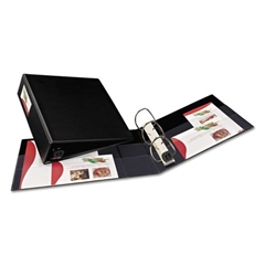 """Avery Heavy-Duty Binder with One Touch EZD Rings, 11 x 8 1/2, 3"""" Capacity, Black"""