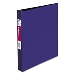"""Avery Durable Binder with Slant Rings, 11 x 8 1/2, 1"""", Blue"""