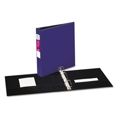 """Avery Durable Binder with Slant Rings, 11 x 8 1/2, 1 1/2"""", Blue"""