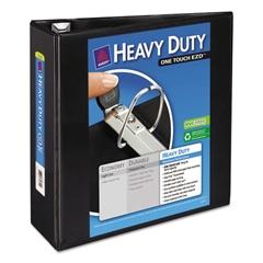 "Avery Heavy-Duty View Binder w/Locking 1-Touch EZD Rings, 4"" Cap, Black"