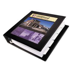 "Framed View Heavy-Duty Binder w/Locking 1-Touch EZD Rings, 1 1/2"" Cap, Black"